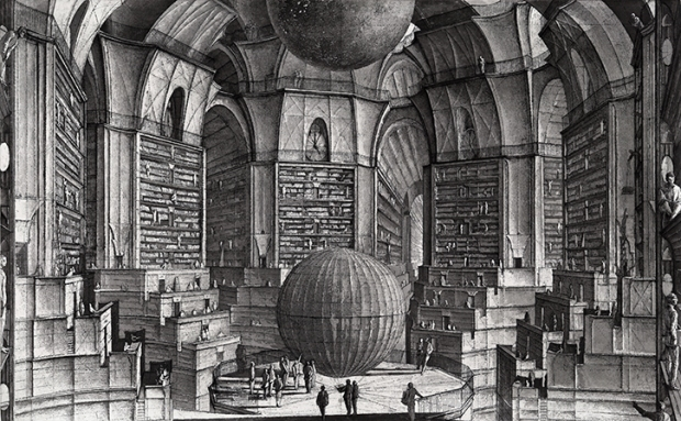 Erik Desmazires.La salle des plantes (The hall of planets).