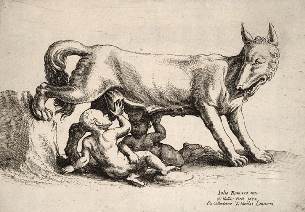 800px-Wenceslas_Hollar_-_Romulus_and_Remus,_after_Giulio_Romano