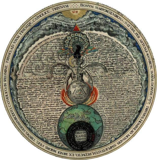 Androgyne of Heinrich Khunrath, Amphitheatrum Sapientiae Aeternae