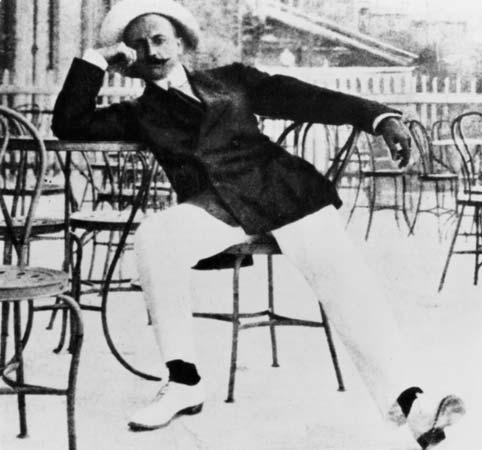 Filippo Tommaso Marinett circa 1915