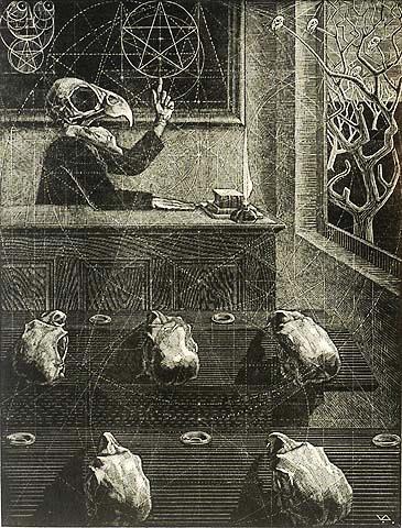 víctor delhez wood engraving