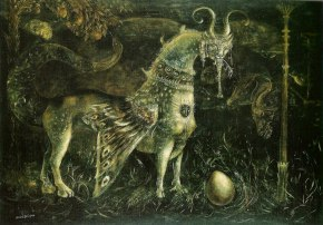 Leonora Carrington Who Art Thou White Face (1959)