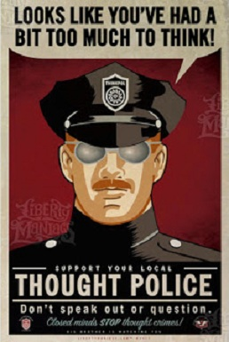 Orwell thought police