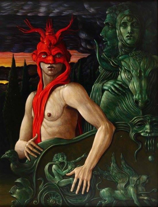 Alberto Abate - Aurora oil on canvas 1985