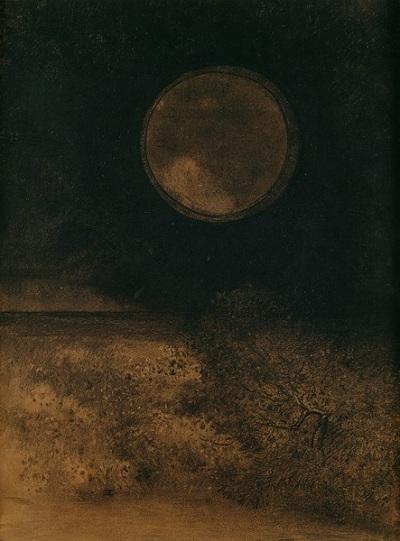Odilon Redon La Sphere 1890-5