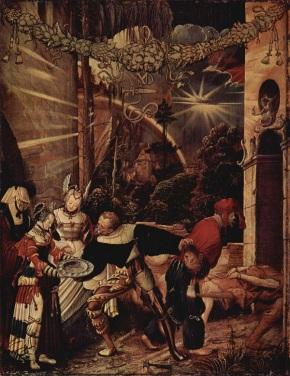Niklaus_Manuel The Beheading of John the Baptist
