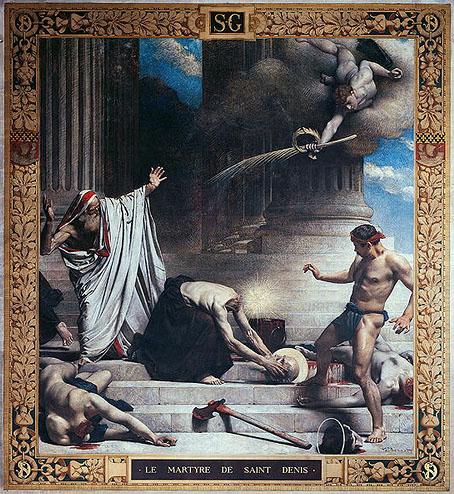 The Martyrdom of St Denis (1885) by Léon Bonnat