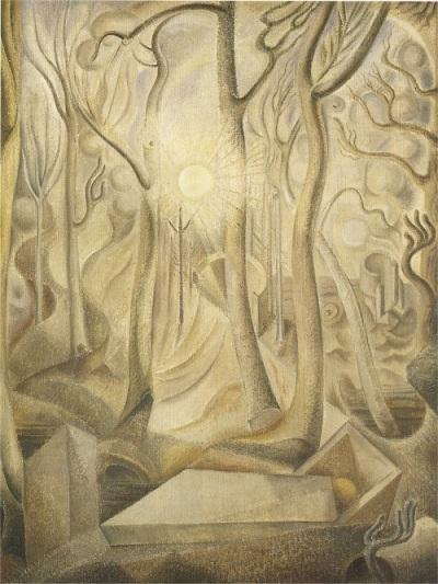 André Masson, Le cimetiere, 1924