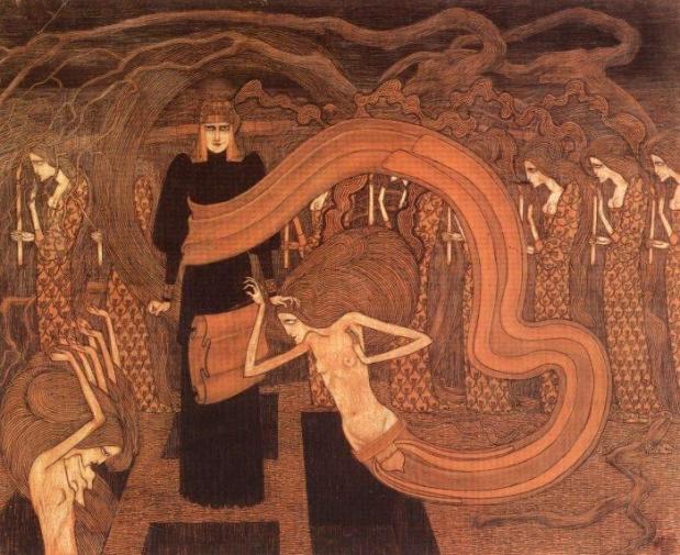 Jan Toorop - Fatalism