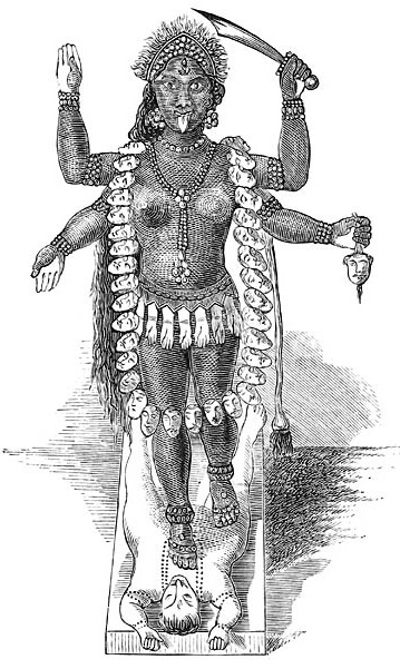 Kali Demonology and Devil-lore, by Moncure Daniel Conway