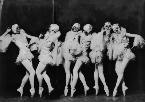 2 The Danse Macabre of Weimar The Albertina Rasch Dancers from the Ziegfeld Follies