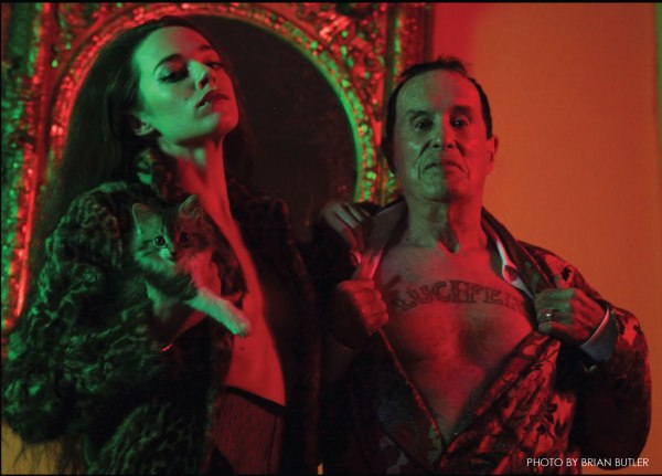 Kenneth Anger by Brian Butler