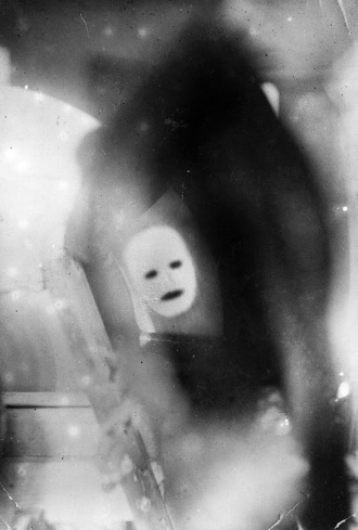 2-A _moving face_ transmitted by John Logie Baird at a public demonstration of TV in 1926