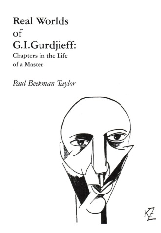 Gurdjieff drawn from life by Kiril Zdanevich in 1920