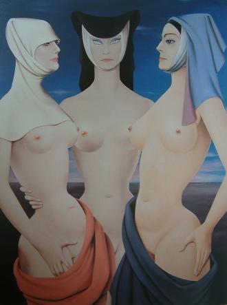 Felix Labisse_Cotyo, Perfica, Volupie_1963