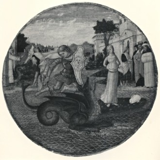 Anonimo veronese sec. XV, Perseo libera Andromeda