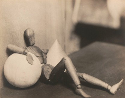 Man Ray, Untitled (Mannequin with Cone and Sphere), 1926.