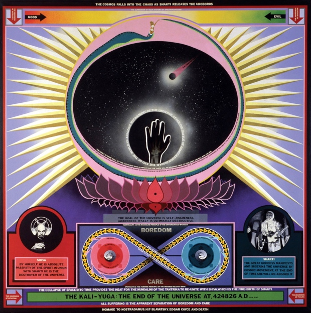 Paul Laffoley The Kali-Yuga The End of the Universe