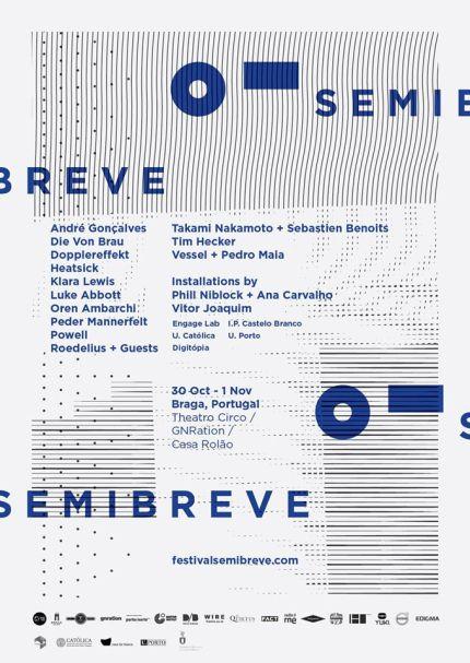 SEMIBREVE 2015 artwork by André Covas e Inês Covas