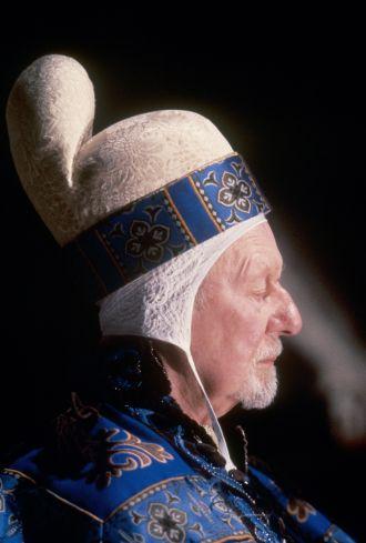 John Gielgud in Prospero's Books directed by Peter Greenaway, 1991
