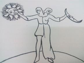 Hermaphroditisches Sonn-und Mondskind