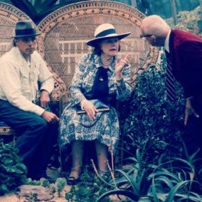 Meeting of Lady Rosebery, Joseph Beuys and Buckminster Fuller 1980