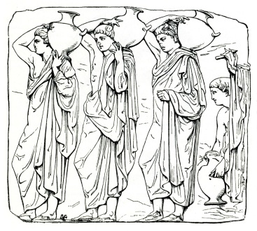 02 Slab VI from the northern frieze of the Parthenon Panathenaea procession