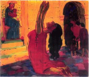 02 Die Heilige Maria von Aegypten Emil Nolde
