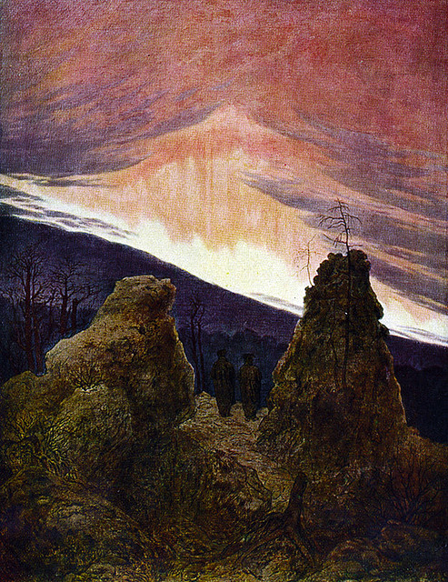 Northern Lights by Caspar David Friedrich