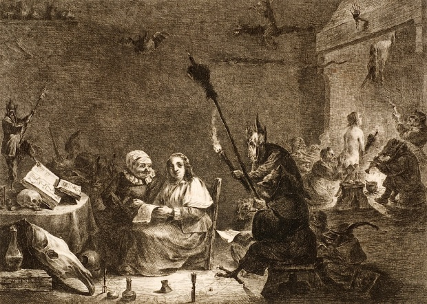 02 Dominique Vivant Denon (after David Teniers the Younger), Sorceress, n.d.