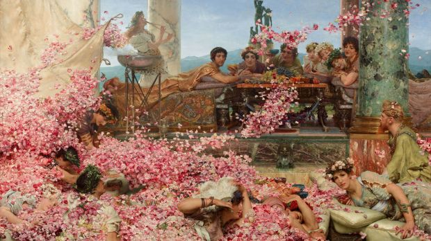 02 The Roses of Heliogabalus (1888) by Lawrence Alma-Tadema