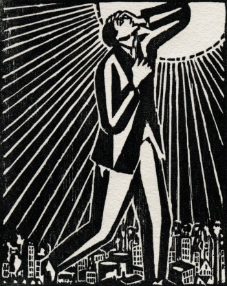01 Frans Masereel. The Sun. 1919.