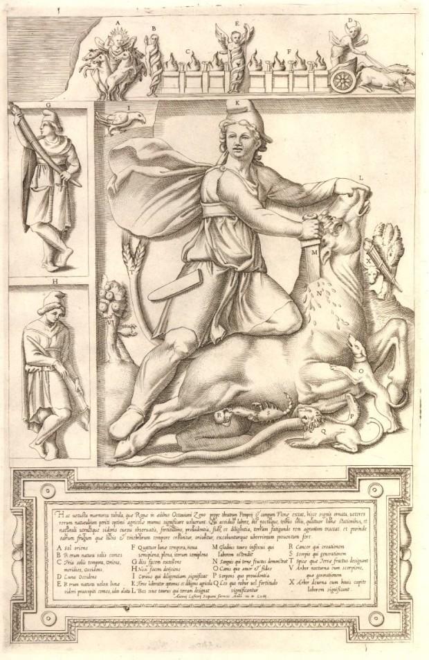 02 Mithras killing the sacred bull