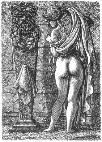 01 Thias Engraving for Vines by D.Burnett Richard Shirley Smith 1984