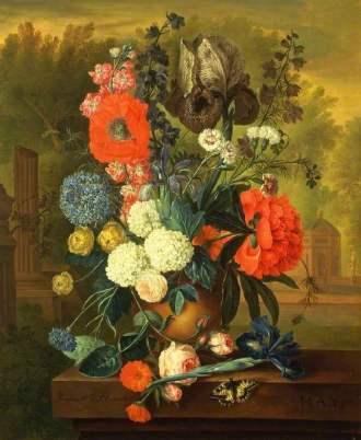 02 May Months of Flowers Jacob van Huysum
