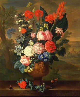 01 June Twelve Months of Flowers Jacob van Huysum
