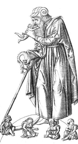 01 Saturn devouring one of his children, ca. 1465