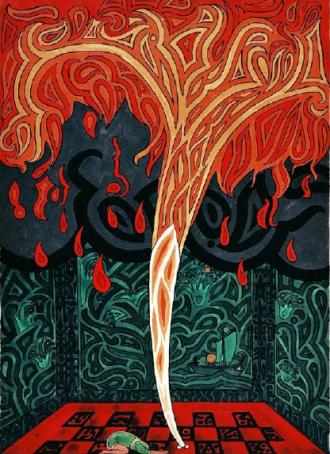 02 ilustração de O Livro Vermelho de Jung