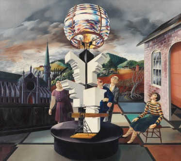 02 Peter Blume. The Light of the World. 1932.