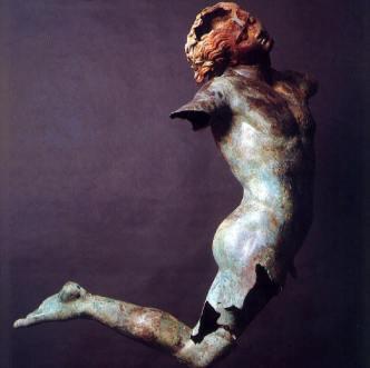 Dancing Satyr of Mazara del Vallo, Greek 2-4 AD