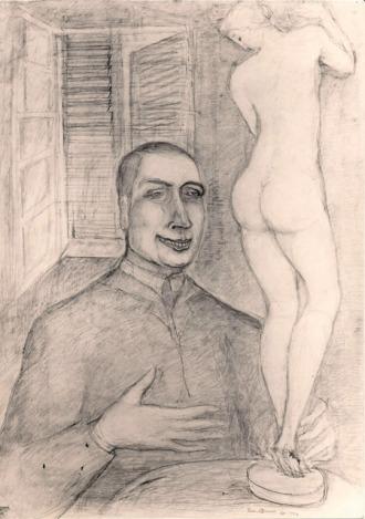 01 Georges Bataille par Pierre Klossowski, 1955.