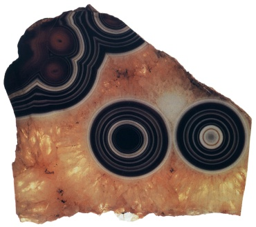 01 An eye agate from Uruguay. From the collection of Roger Caillois.